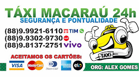 TÁXI MACARAÚ 24H - SEGURANÇA E PONTUALIDADE
