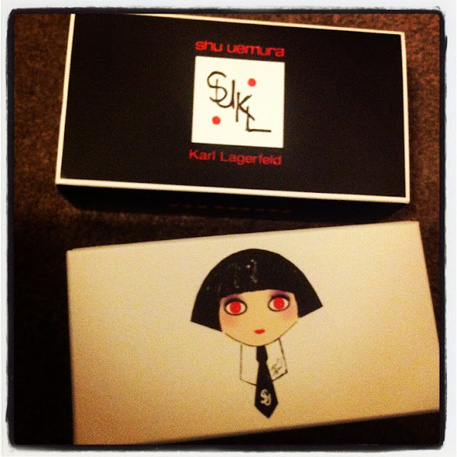 karl for shu premium eyelashes