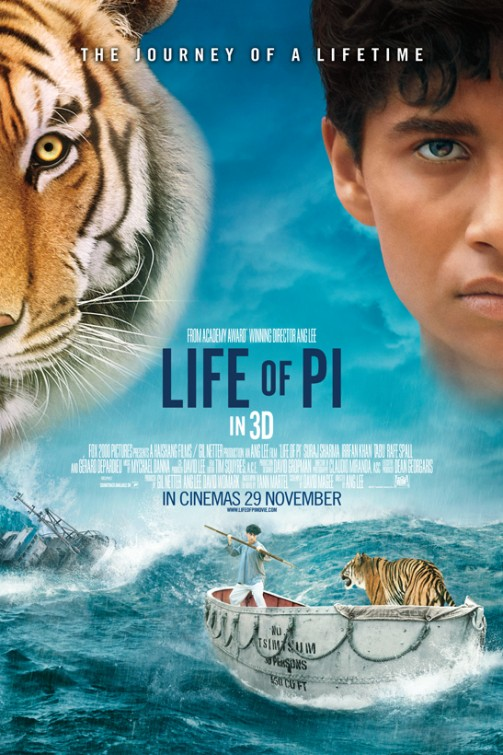 Life Of Pi 2012 5 New Posters And Banner The