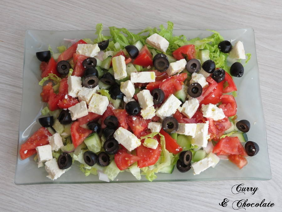Ensalada griega - Greek salad