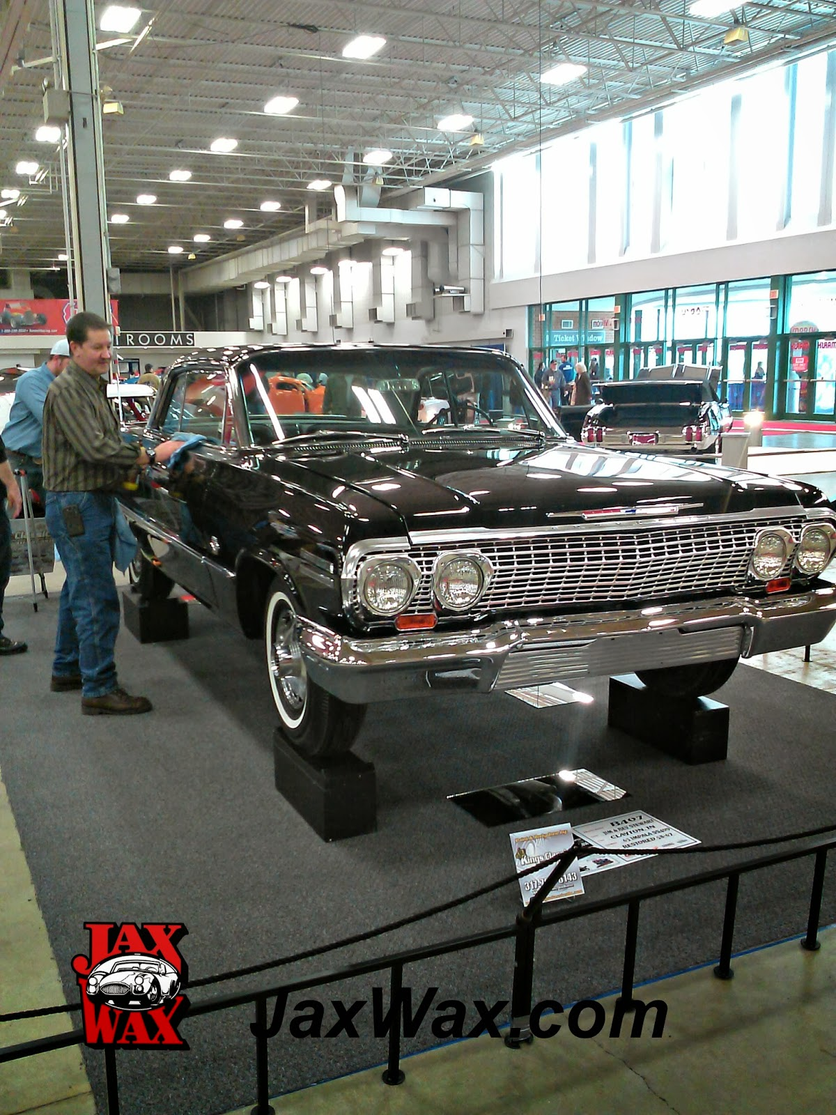 1963 Chevy Impala SS 409 Indianapolis World of Wheels Jax Wax Customer