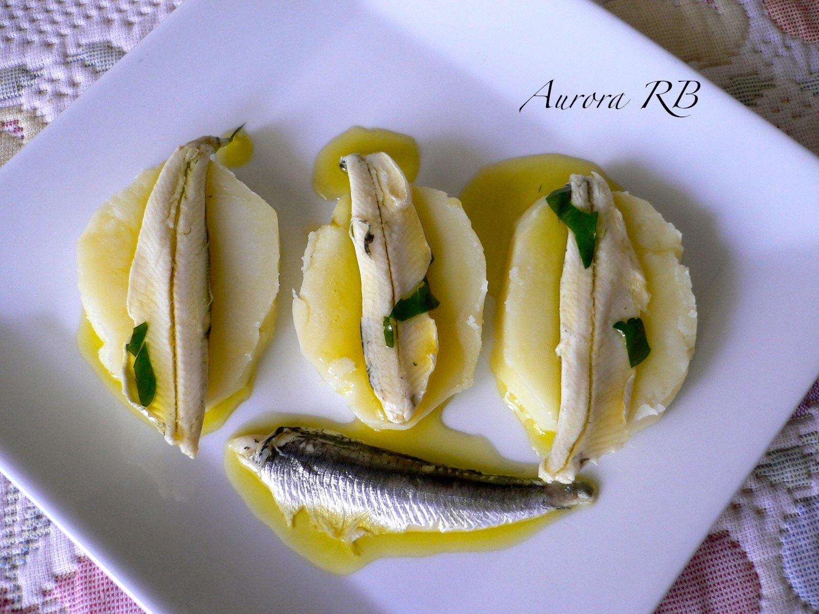 Las recetas de aurora boquerones en vinagre - Boquerones en vinagre duros ...