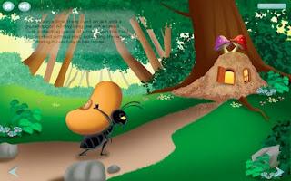 La hormiga y el grano de trigo para niños con moraleja