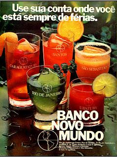 propaganda Banco Itaú - 1971