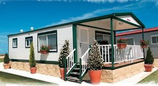 Modelo de casa americana prefabricada ofrecida en España