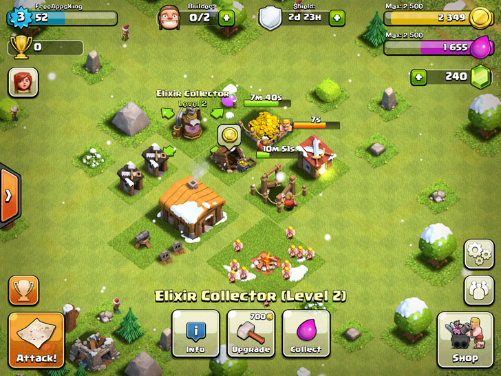 Clash Of Clans App By Supercell - FreeApps.ws