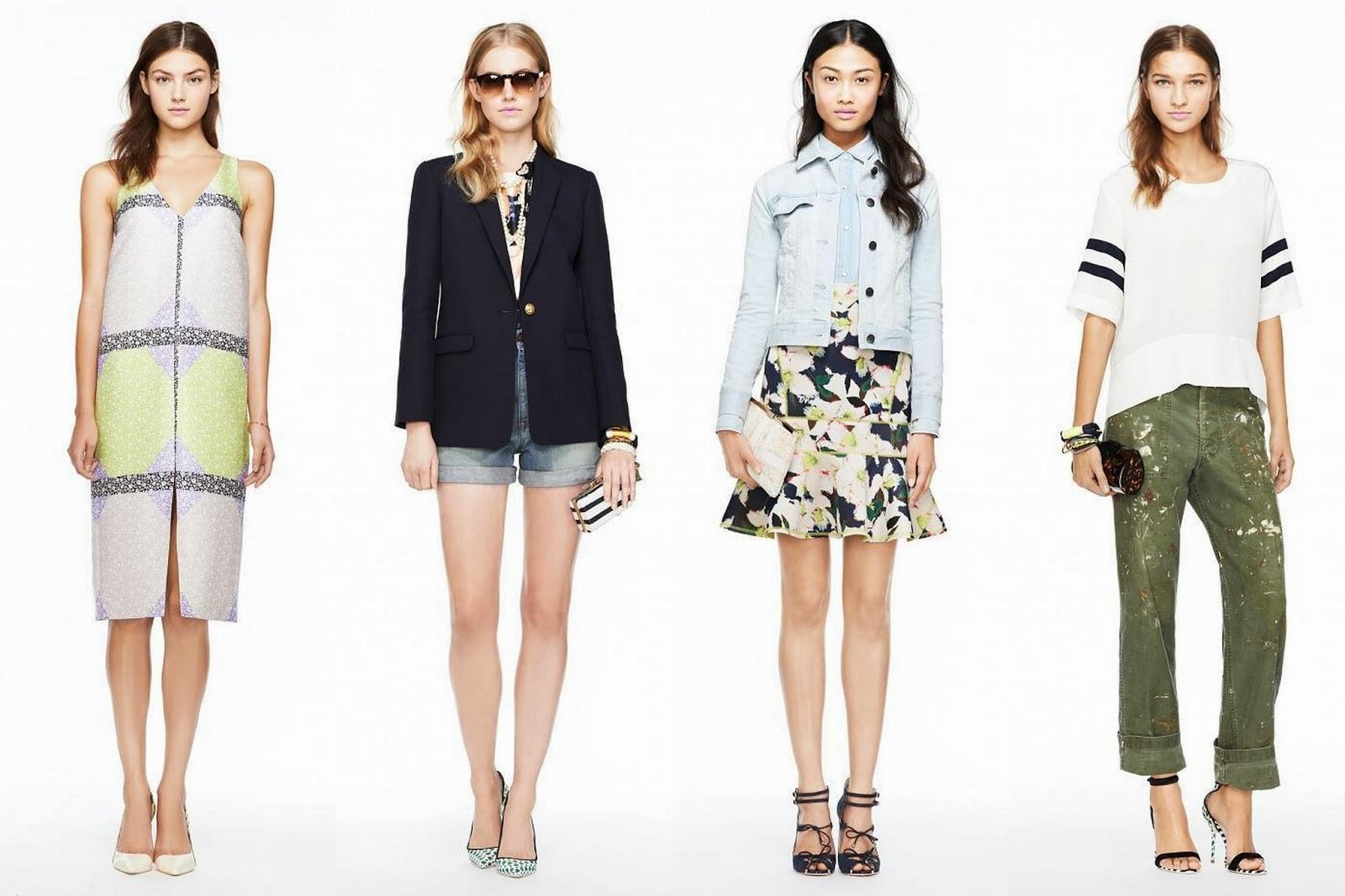 I AM FASHION !!!: J.Crew Spring/Summer 2014 Womenswear ...
