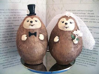 Animals Wedding Cake Toppers Decoration