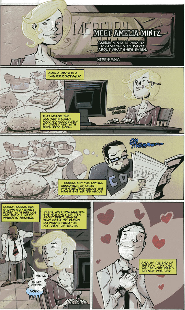 Chew #3 by John Layman and Rob Guillory