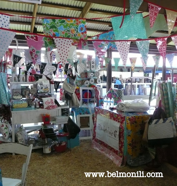 bel monili, modern june, oilcloth, country living, country living fair, country living magazine