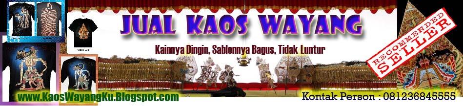 Jual Kaos Wayang
