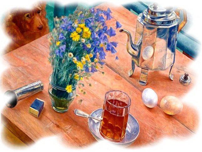 утренний натюрморт петрова водкина:
