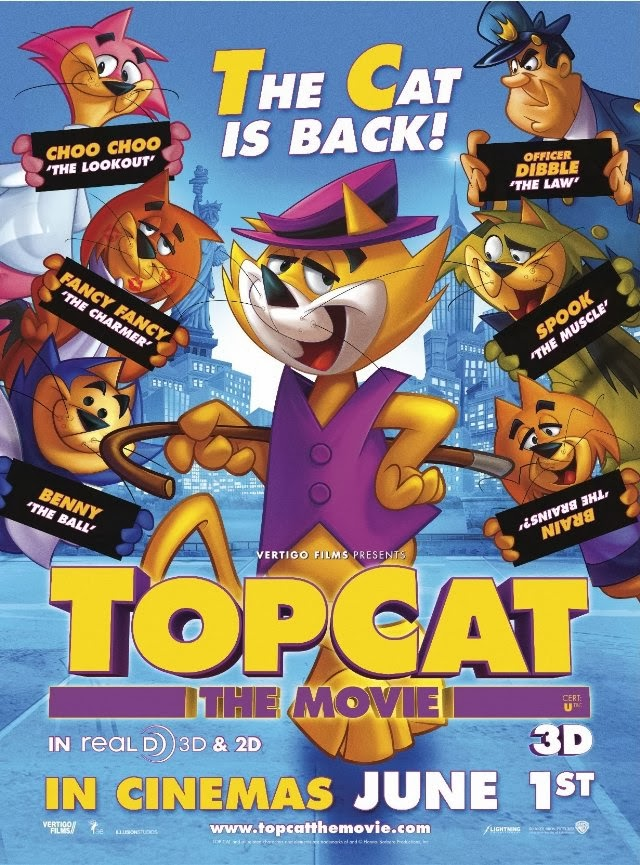 Download Top Cat: The Movie (2011) BluRay 720p