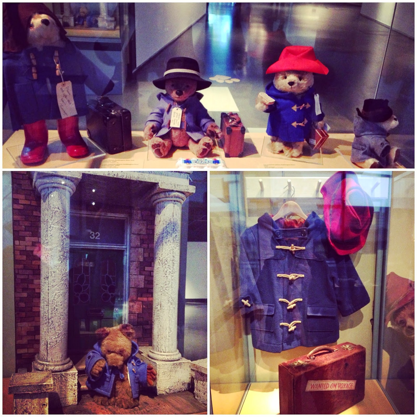 Museum of London Paddington Bear