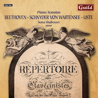 Beethoven: Piano Sonata No. 17 in D Minor - Schnyder von Wartensee: Piano Sonata in C Major - Liste: Grande Sonata for Piano in A Major