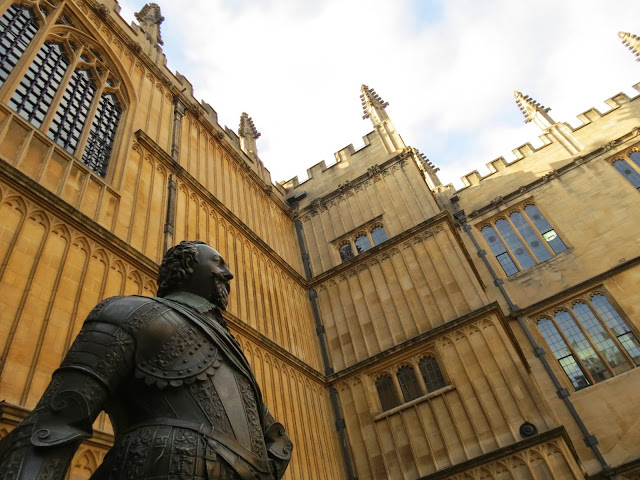 Bodleian library courtyard william herbert