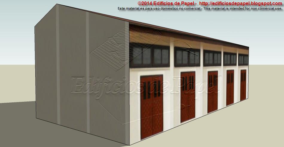 Edificios de Papel (c) 2015 - Maqueta de papel 1547