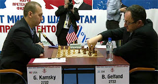 Echecs à Kazan : la demi-finale entre Gata Kamsky (2732) et Boris Gelfand (2733)