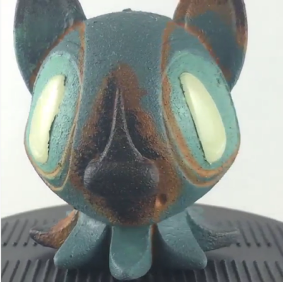 Designer Con 2015 Exclusive Rusted Octopup Vinyl Figure by Nathan Hamill x Touma x 3DRetro