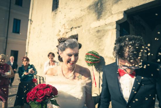 abito da sposa corto, abito da sposa vintage, nadia manzato, matrimonio rockabilly, rockabilly wedding, real wedding, matrimonio circo vintage