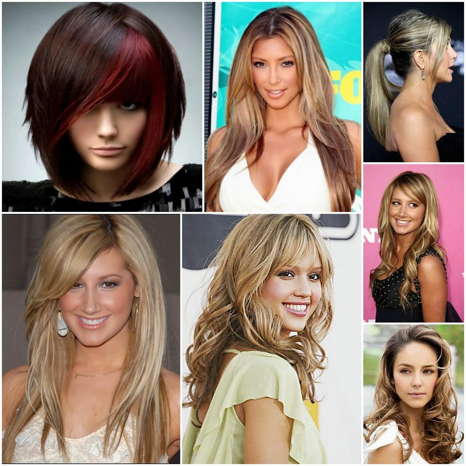 hårslingor i olika färger