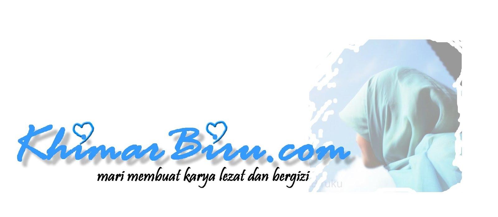 Khimar Biru
