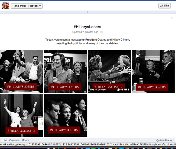 TONY PHYRILLAS ON POLITICS: If Hillary Clinton Campaigned