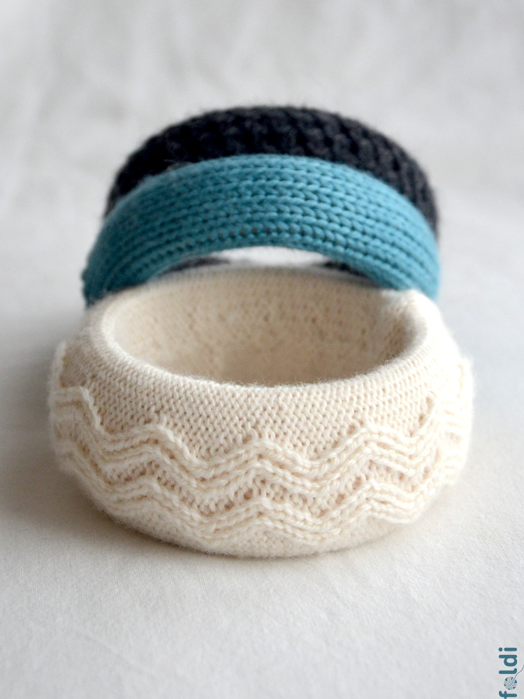 foldi: Knitted Jewellery - Last Minute Gifts