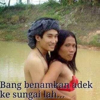Foto Dan Gambar Lucu facebook sungai lah