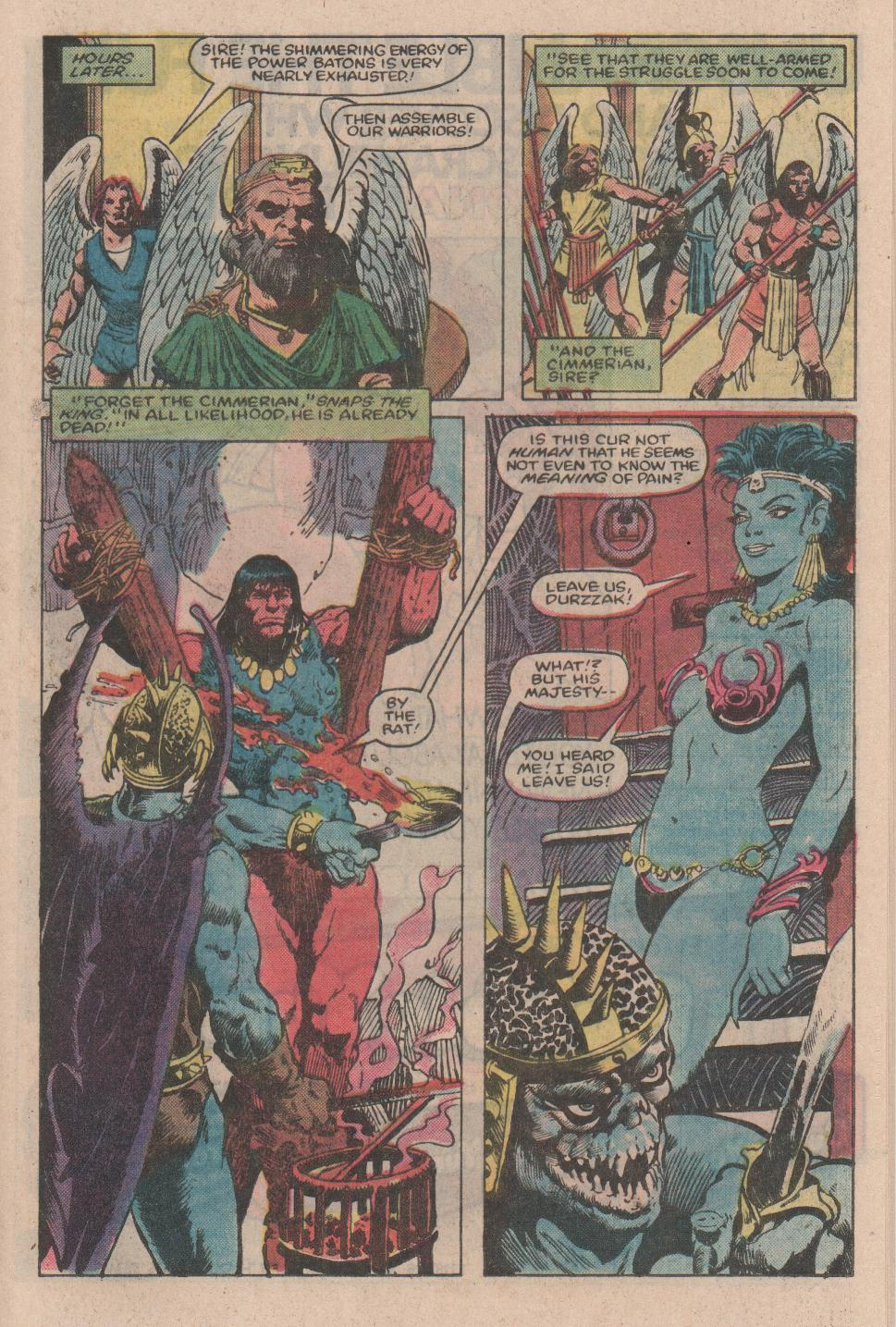 Conan the Barbarian (1970) Issue #154 #166 - English 16