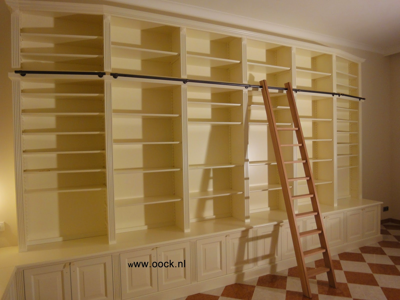 Interieurbouw trends in custom made bookcases