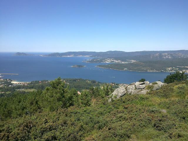 Monte Louro, Muros, A Creba, Esteiro desde el san lois