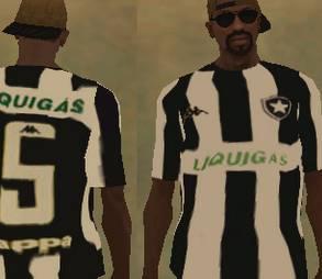 Camisa do Botafogo para Gta
