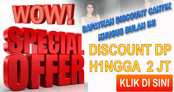 Daftar Discount DP Kredit Motor Murah Jakarta