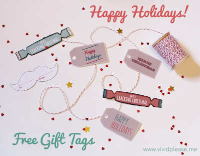 Free Christmas Gift Tags to Print Out