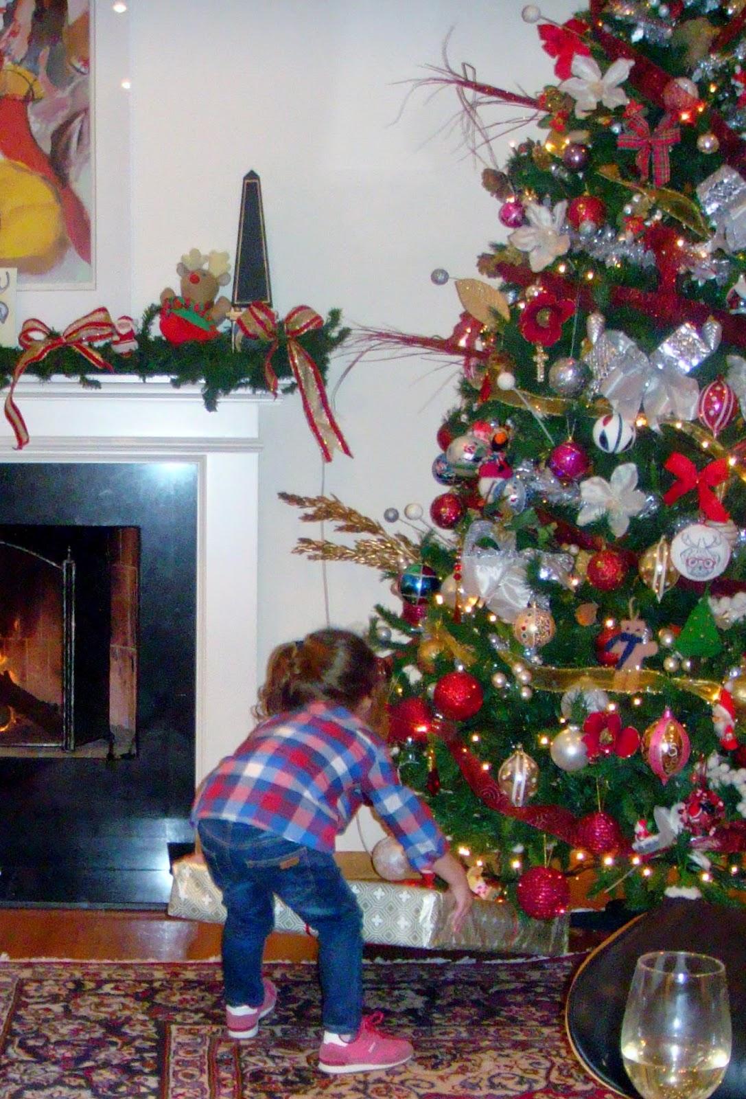 Melina at Christmas