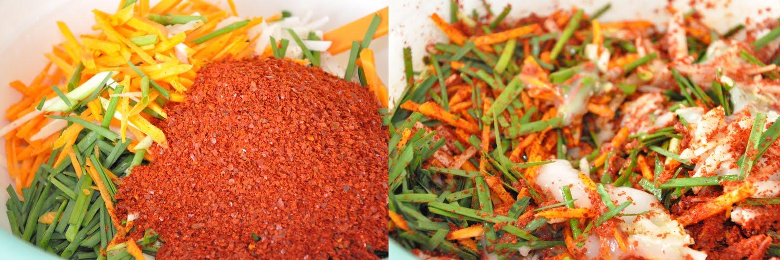 how to eat white kimchi