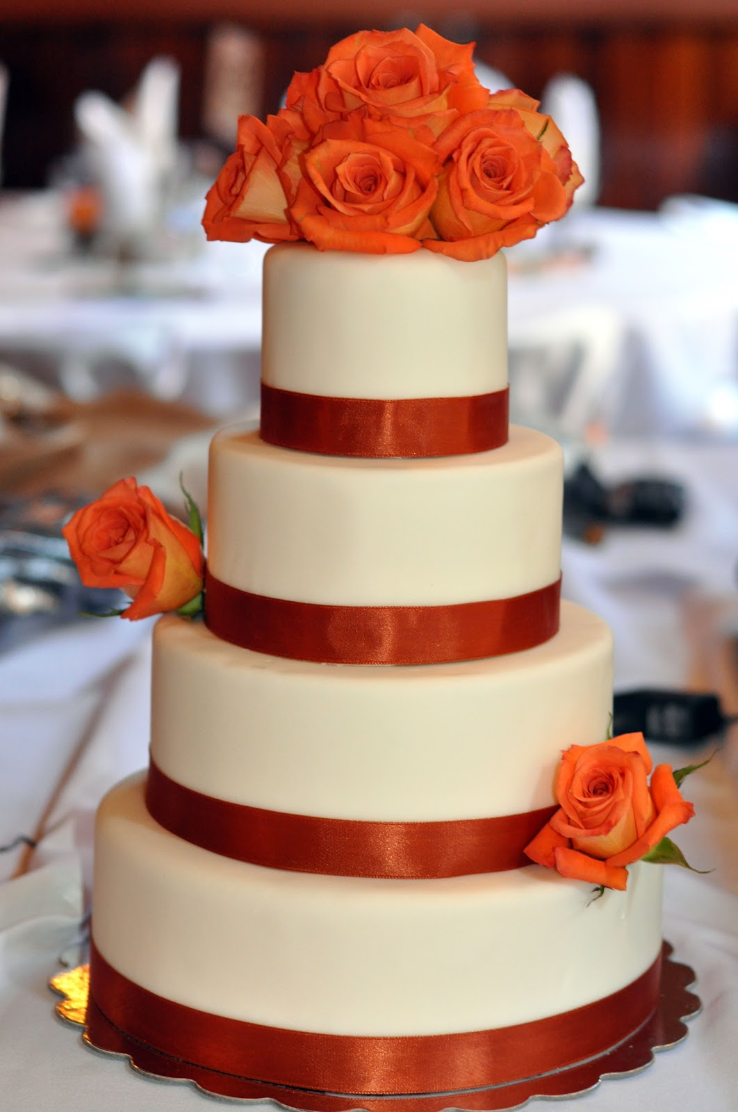 Fall Wedding Cake | Sweet Kat\'s Creations