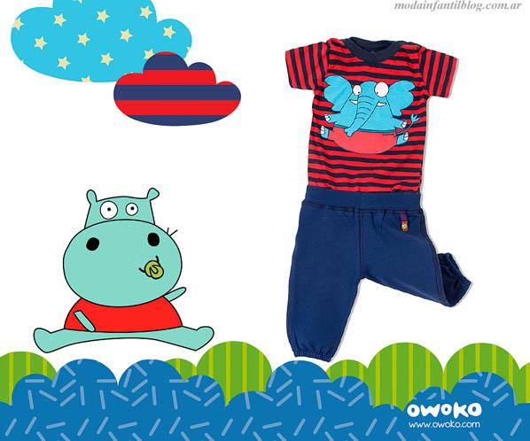 moda infantil en ropa niños verano 2014