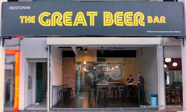 The Great Beer Bar, craft beers kl