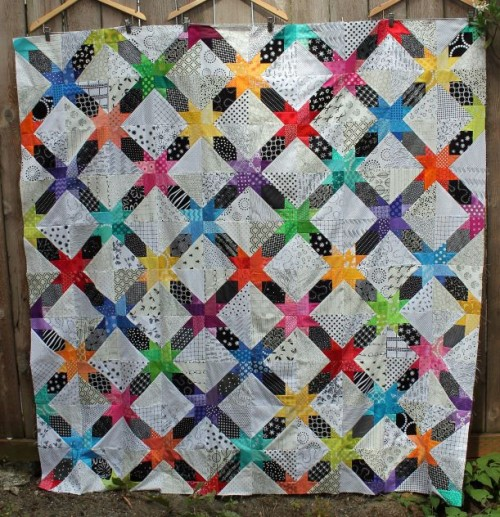 Star String Paper Pieced - Free Pattern