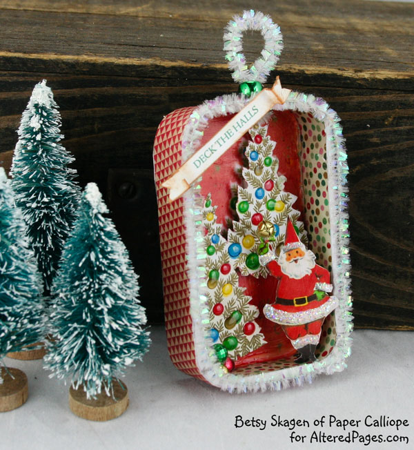 A fresh breath of retro goodness for Vintage christmas craft supplies