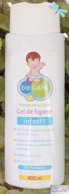 gel higiene biocare atópica infantil