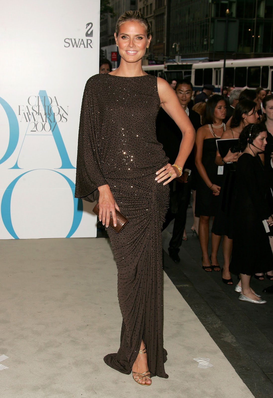 Heidi Klum At Cfda Fashion Awards In New York City, 2007