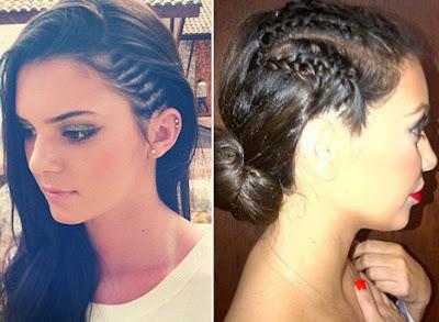 Kim-Kardashian-Kendall-Jenner-Cornrows-Hairstyles