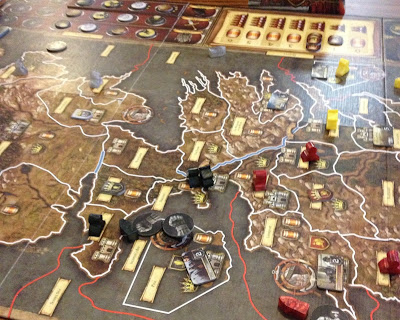 A Game of Thrones the board game review The neck