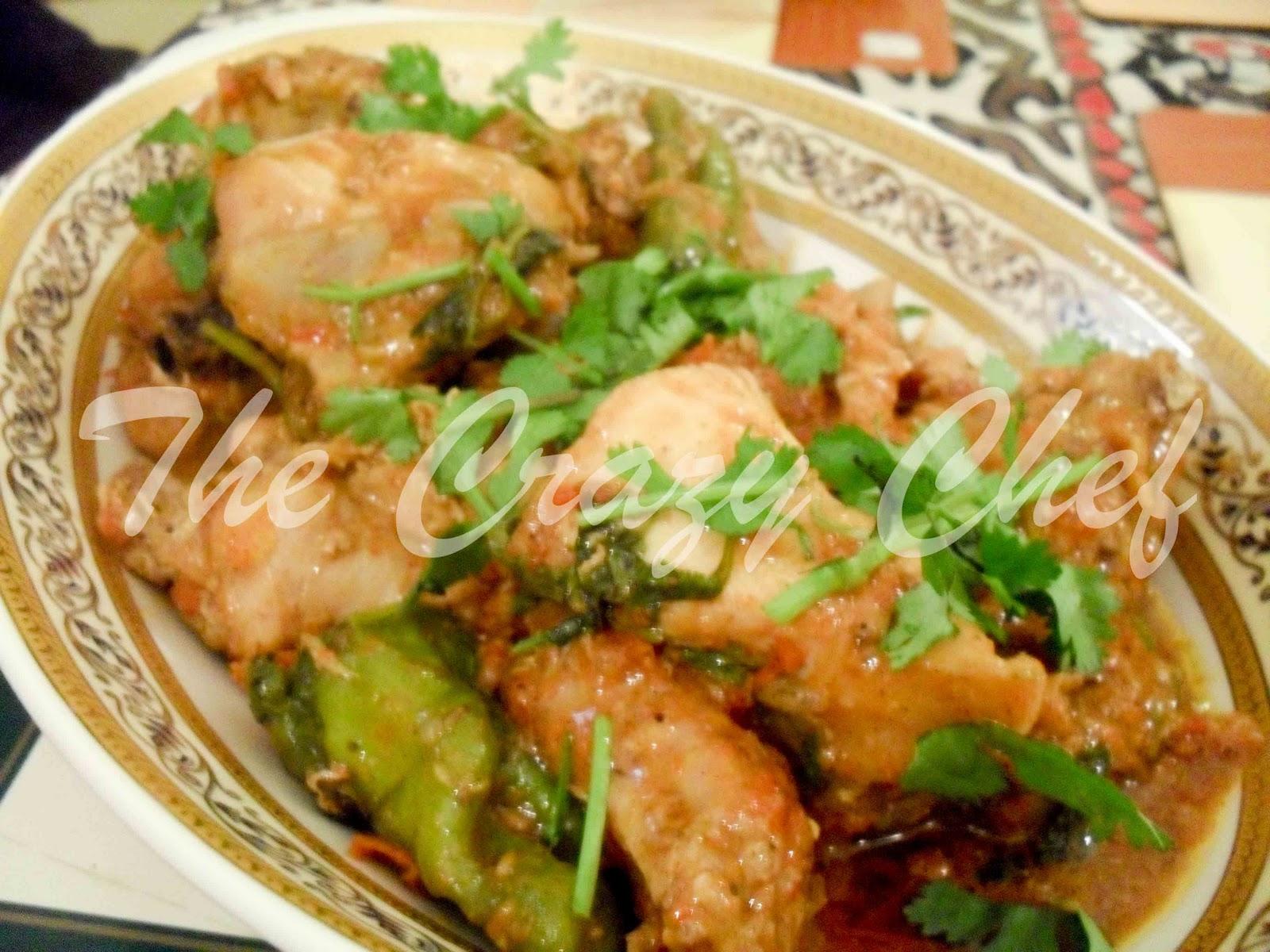 The Crazy Chef Chicken Karahi
