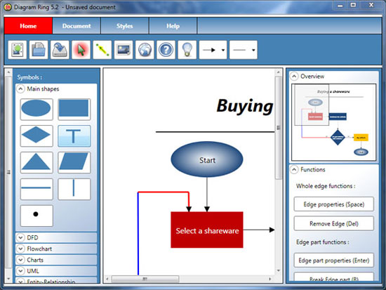 Diagram ring software open source Free open source flowchart software