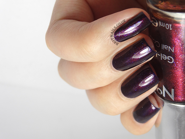 No7 Galaxy Swatches - Chanel Taboo dupe? | Brit Nails