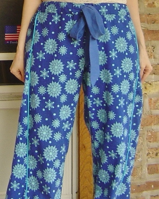 Blue Flannel Tofino Lounge Pants